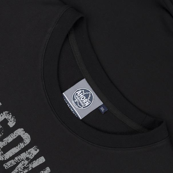 AHORN Sweatshirt schwarz