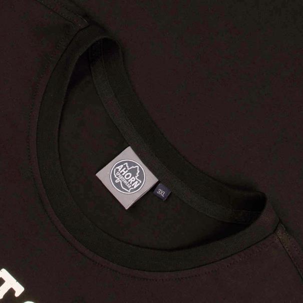 AHORN T-Shirt schwarz