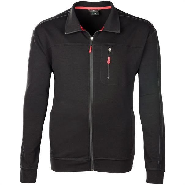 AUTHENTIC KLEIN Trainingsjacke schwarz