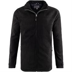 BLUE WAVE Fleecejacke schwarz
