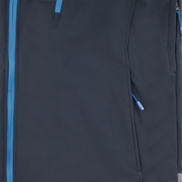 BLUE WAVE Softshelljacke blau