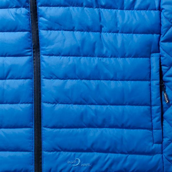 BLUE WAVE Steppweste blau