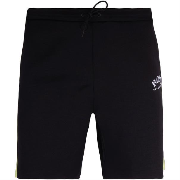 BOSS kurze Jogginghose schwarz