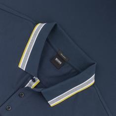 BOSS Poloshirt jeansblau