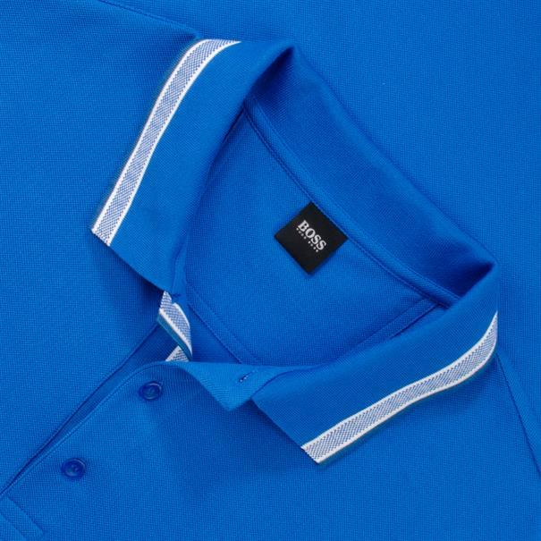 BOSS Poloshirt royal-blau