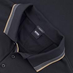 BOSS Poloshirt schwarz