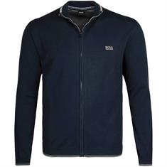 BOSS Strickjacke marine