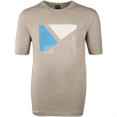 BOSS T-Shirt grau-meliert