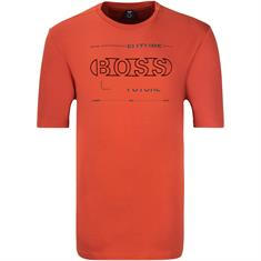BOSS T-Shirt rostbraun