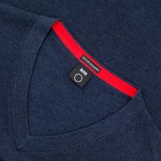 BOSS V-Pullover blau