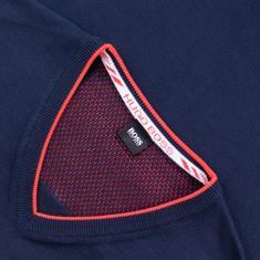 BOSS V-Pullover marine