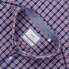 BRAX Freizeithemd - Modern Fit rot