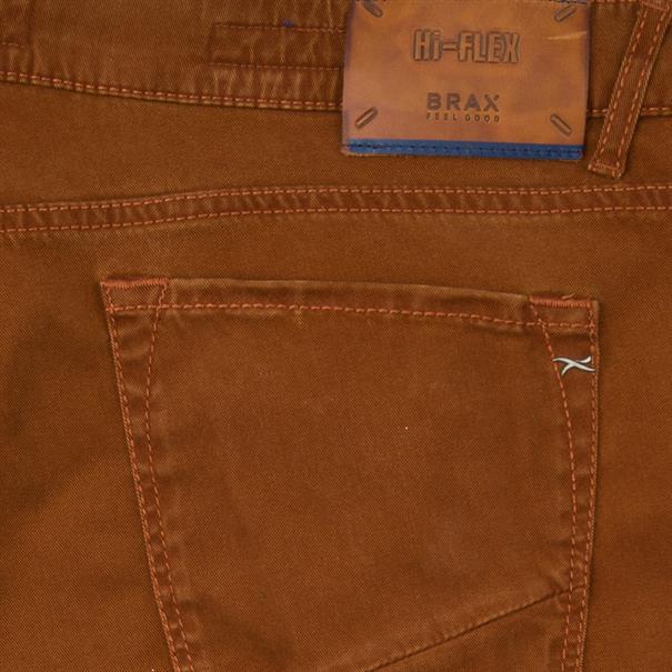 BRAX Jeans rostbraun