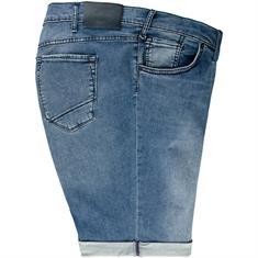 BRAX Jeans-Shorts blau