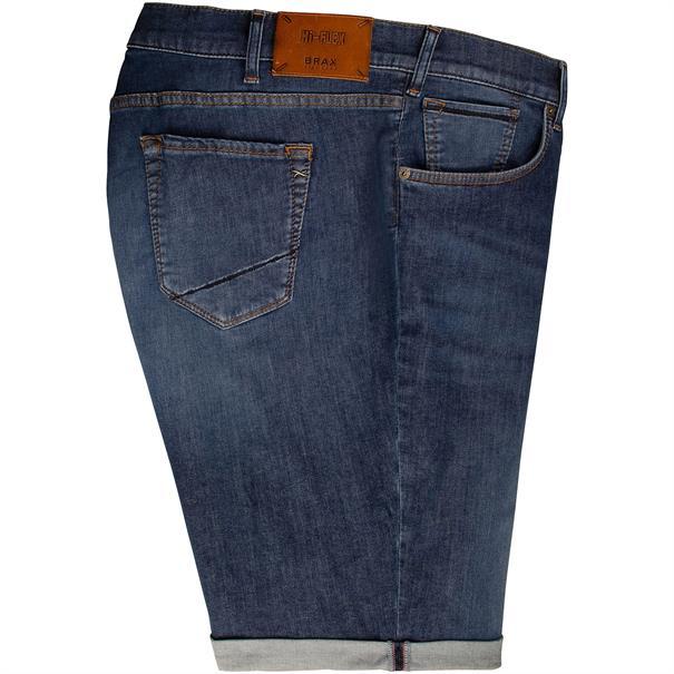 BRAX Jeans-Shorts jeansblau