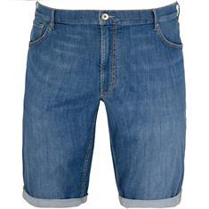 BRAX Jeansshorts blau