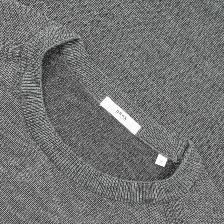 ausgereifte Technologien Herbst Schuhe präsentieren BRAX Pullover grau