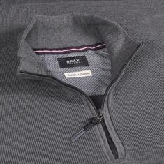 BRAX Pullover grau