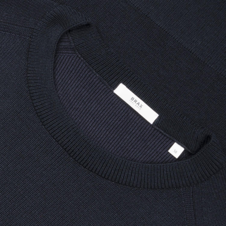 stylistisches Aussehen verkauf usa online erstklassiger Profi BRAX Pullover marine