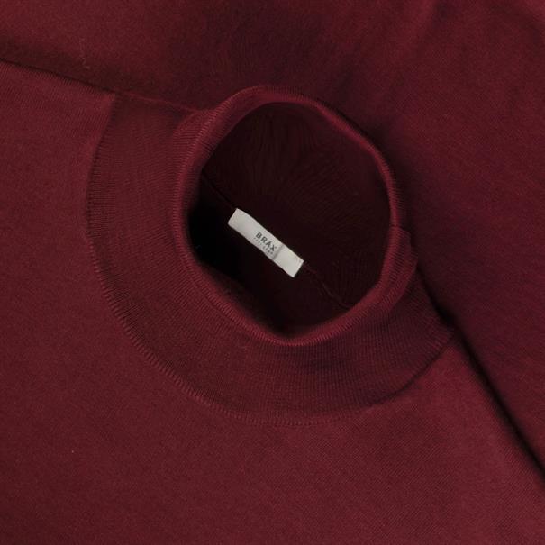 BRAX Rollkragen-Pullover bordeaux