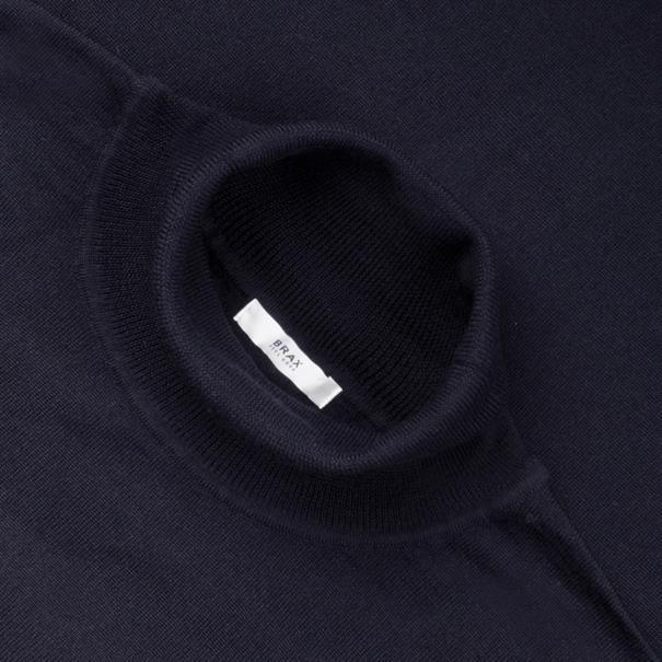 BRAX Rollkragen-Pullover marine