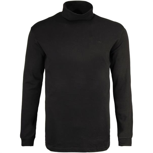 BRAX Rollkragen-Pullover schwarz