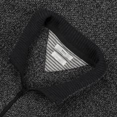 BRAX Strickjacke grau-meliert