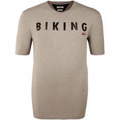 BRAX T-Shirt grau
