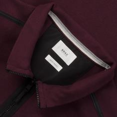 BRAX Troyer-Sweatshirt bordeaux
