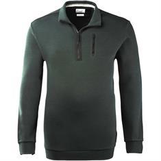 BRAX Troyer-Sweatshirt grün