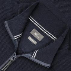 BRAX Zipp-Pullover marine