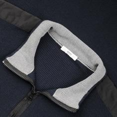 BRAX Zipper-Pullover marine