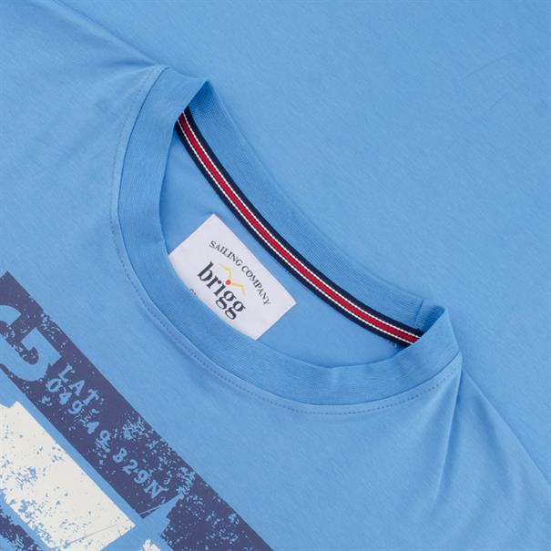 BRIGG T-Shirt blau