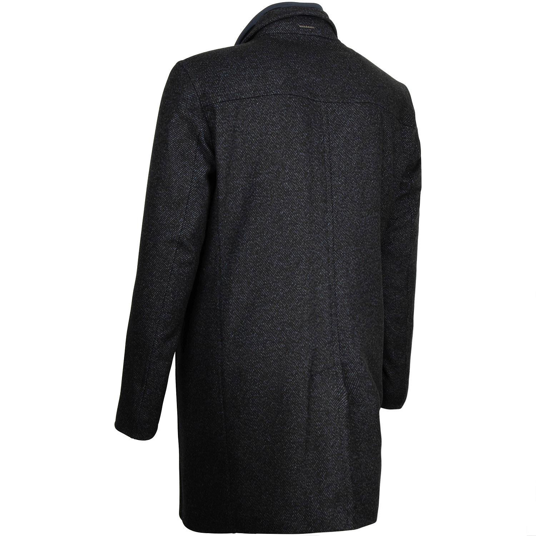 blau blau meliert blau meliert blau Mantel Mantel Mantel BUGATTI BUGATTI meliert Mantel BUGATTI BUGATTI 0Nwm8n