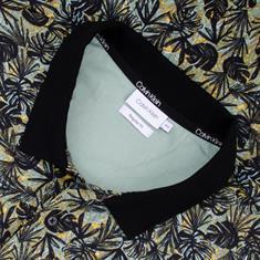 CALVIN KLEIN Poloshirt grün