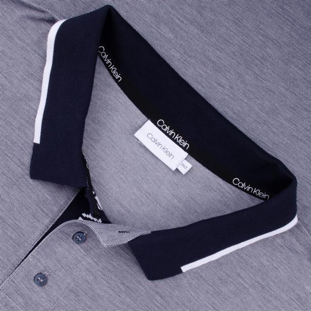 CALVIN KLEIN Poloshirt grau