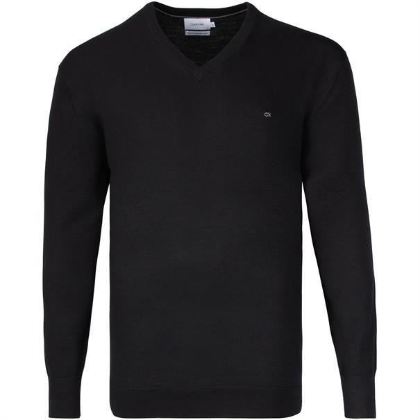 CALVIN KLEIN Pullover schwarz