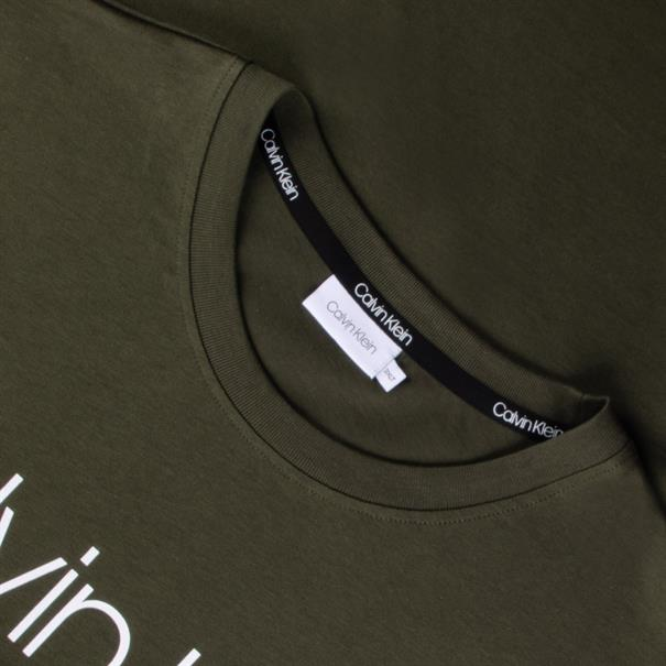 CALVIN KLEIN T-Shirt oliv