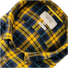 CAMEL ACTIVE Flanellhemd gelb