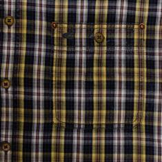 CAMEL ACTIVE halbarm Freizeithemd gelb
