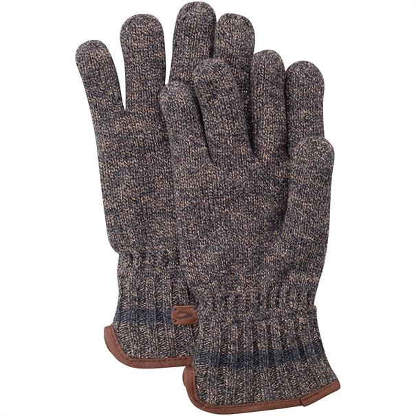 CAMEL ACTIVE Handschuhe braun-meliert