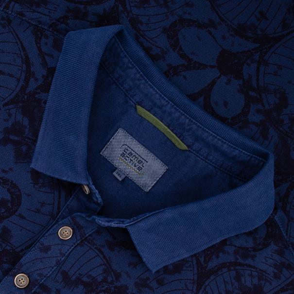 CAMEL ACTIVE Poloshirt blau