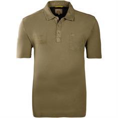 CAMEL ACTIVE Poloshirt oliv