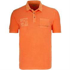 CAMEL ACTIVE Poloshirt orange