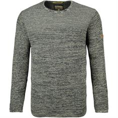 CAMEL ACTIVE Pullover grau-meliert
