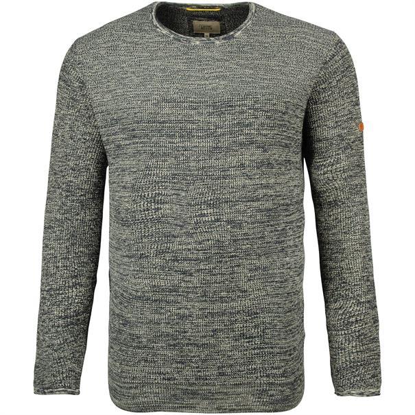 CAMEL ACTIVE Pullover grau-meliert