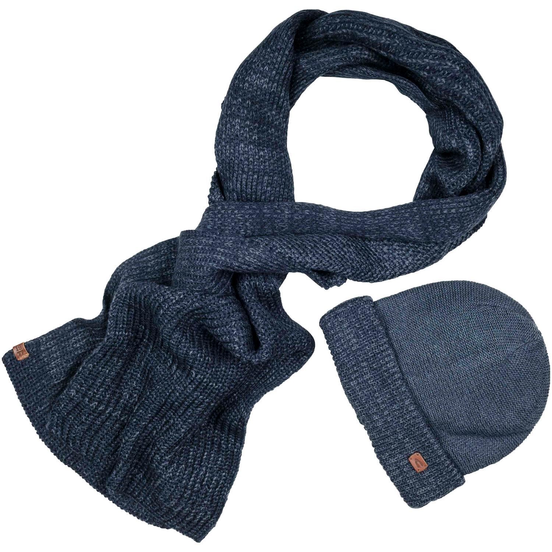 dirt cheap half price quality products CAMEL ACTIVE Schal und Mütze blau