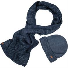 CAMEL ACTIVE Schal und Mütze blau