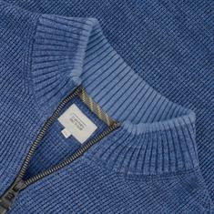 CAMEL ACTIVE Strickjacke blau