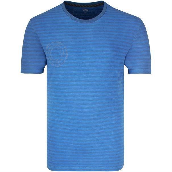 CAMEL ACTIVE T-Shirt mittelblau